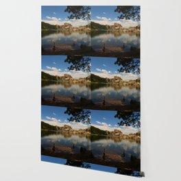 What A Beautiful Day At Sylvian Lake Wallpaper