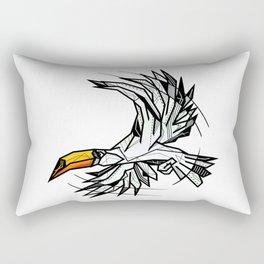 Toucan bird geometric Rectangular Pillow