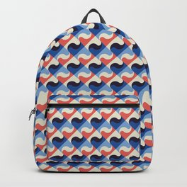 Colored Fifties Pattern 02 Backpack
