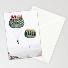 Flying Cacti Stationery Cards