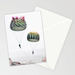 Flying Cacti Stationery Cards