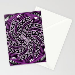 Wind Spirit (Purple) Stationery Cards