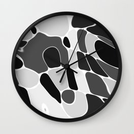 Funky Abstract 4 Wall Clock
