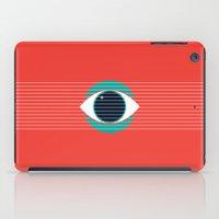 evil eye iPad Cases featuring Evil Eye by smoraes