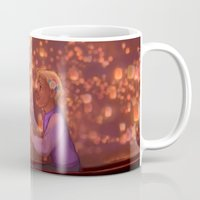 johnlock Mugs featuring I see the Light by emillu