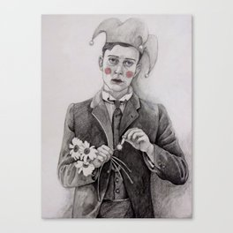 Pierrot  Canvas Print