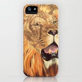 Brave Lion iPhone Case