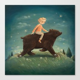 Bear Boy by Emily Winfield Martin Canvas Print