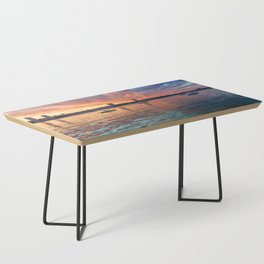 Hudson River Sunset Coffee Table