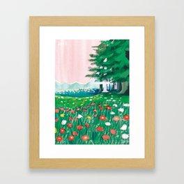 april art work Framed Art Print