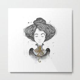 Amelia Metal Print