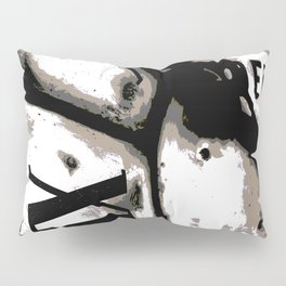 DISTRESSED TIME EARTH Pillow Sham