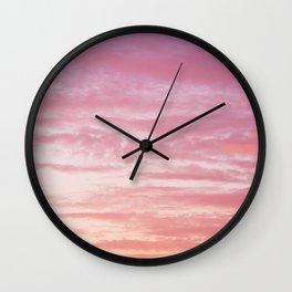 Pink Vibes Wall Clock