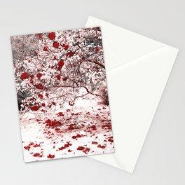 Camellia bush Stationery Cards