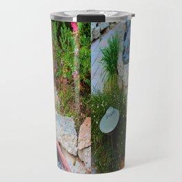 Nap in the Garden, California Style Travel Mug