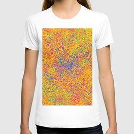 Orange and Blue Medley T-shirt