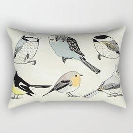 little birds Rectangular Pillow