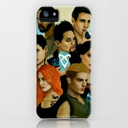 Shadowhunters iPhone Case
