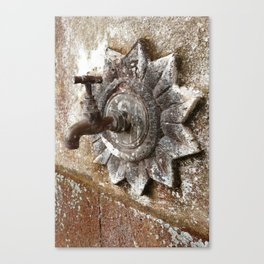 An old tap Canvas Print