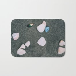 she sells, sea shells Bath Mat
