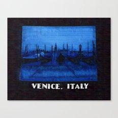 Venice Italy Gondolas Canvas Print