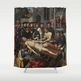 The Judgment of Cambyses Shower Curtain