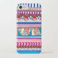 aqua iPhone & iPod Cases featuring AQUA by Vasare Nar