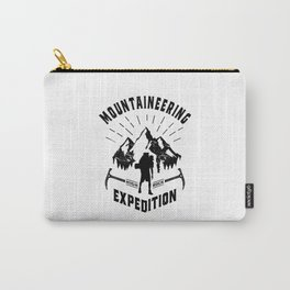 Hot Mountaineering Art Gift Carry-All Pouch