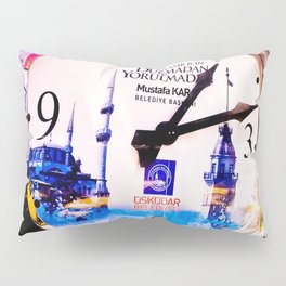 Watch marques not hours. Pillow Sham