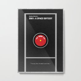 2001 A Space Odyssey Metal Print