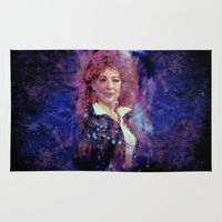 river song Area & Throw Rugs featuring River Song by Sirenphotos