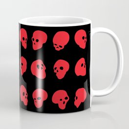 redhead - red on black Coffee Mug