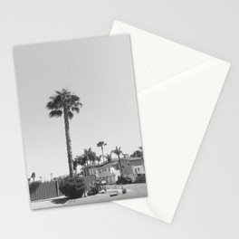 Oceanside Palm Tree Stationery Cards