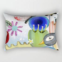 Un placer coincidir en esta vida Rectangular Pillow