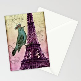 Parisien Bird Stationery Cards