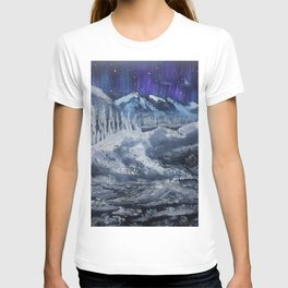 Mountain valley Auroras T-shirt