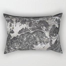 Grunge old vintage wall Rectangular Pillow