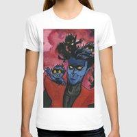 nightcrawler T-shirts featuring Kurt & Bamfs by Fiendish Thingy Art