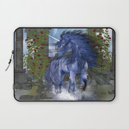 Blue Unicorn 2 Laptop Sleeve