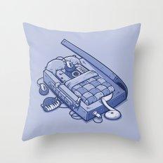 TAPE NAP Throw Pillow