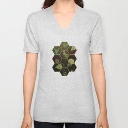 Bees in Space Unisex V-Neck