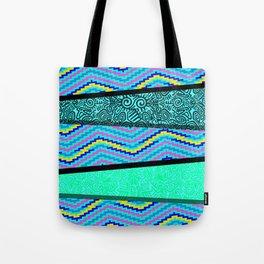 OBJ.CL Pattern Combi Tote Bag