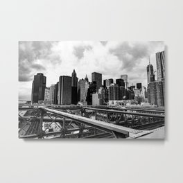 A New York minute Metal Print