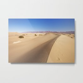 Mesquite Flat Sand Dunes in Death Valley National Park Metal Print