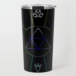 The Triforce Of Symbol Travel Mug