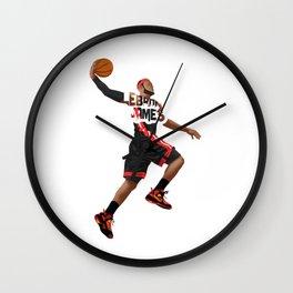 LeBronJames Slamdunk Nice Wall Clock