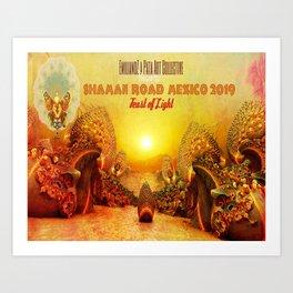 Shaman Road Mexico 2109 Art Print