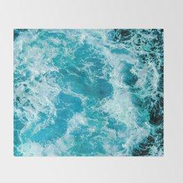 Sea Me Waving Throw Blanket