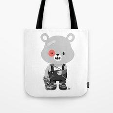 Bruised Bear Tote Bag