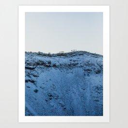 Kerið Crater, Iceland Art Print